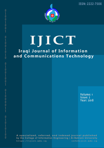 Vol. 1, Issue 2, 2018, Iraqi Journal of Information and Communications Technology